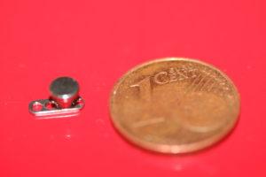 dermal anchor implantat single point piercing