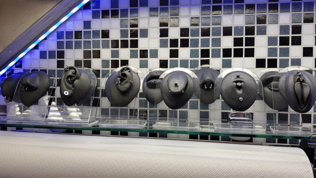 Silikon Piercing Modelle